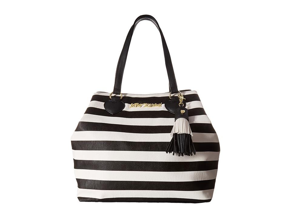Betsey Johnson - Flash Tat Tote (Stripe) Tote Handbags