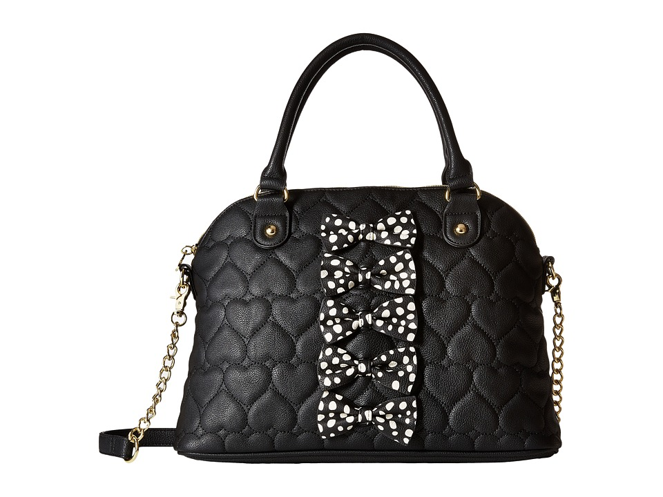 Betsey Johnson - Petite Chic Dome (Black Multi) Handbags