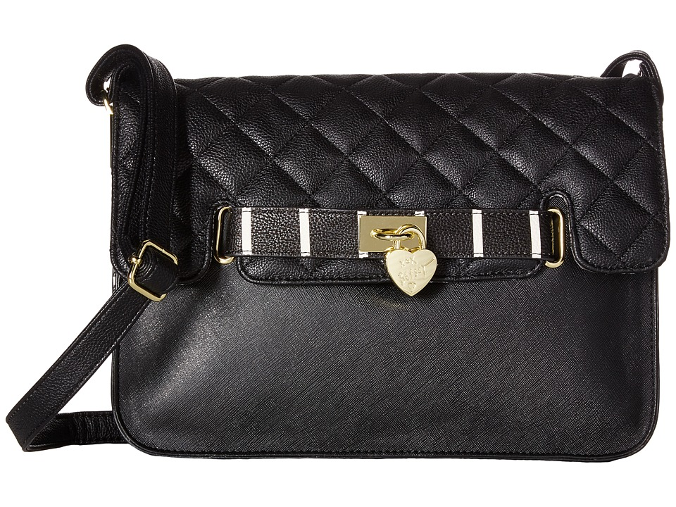 Betsey Johnson - Swagger Shoulder (Black) Shoulder Handbags