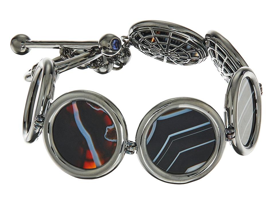 Eddie Borgo - Voyager Toggle Bracelet (Gunmetal) Bracelet