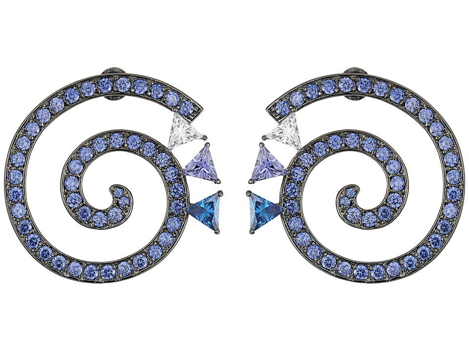 Eddie Borgo - Apollo Day Earrings (Gunmetal) Earring