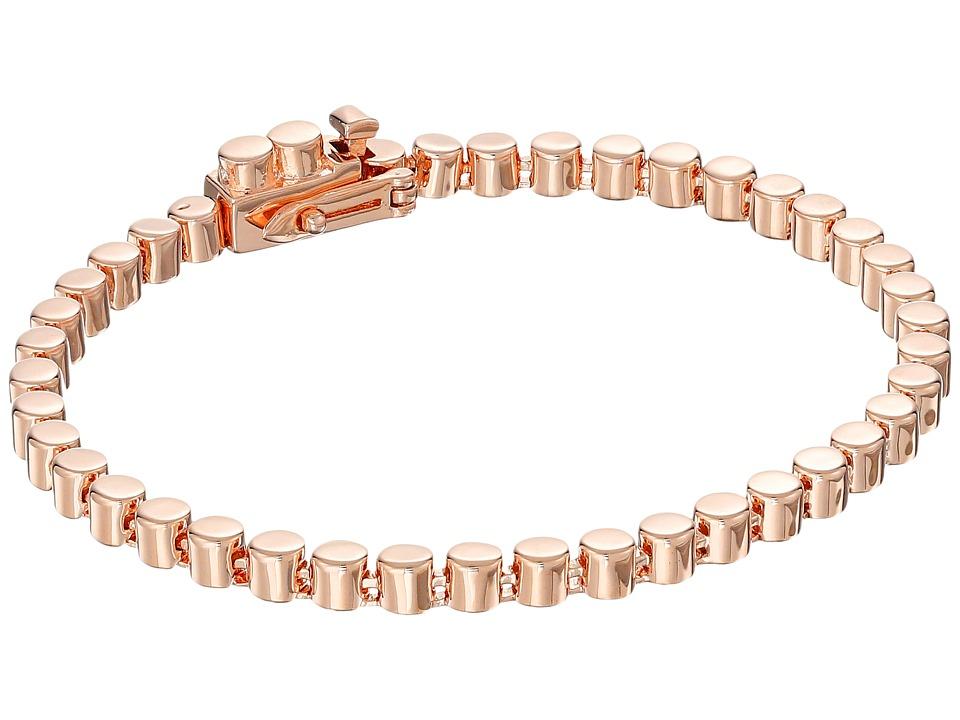 Eddie Borgo - Small Cylinder Link Bracelet (Rose Gold) Bracelet