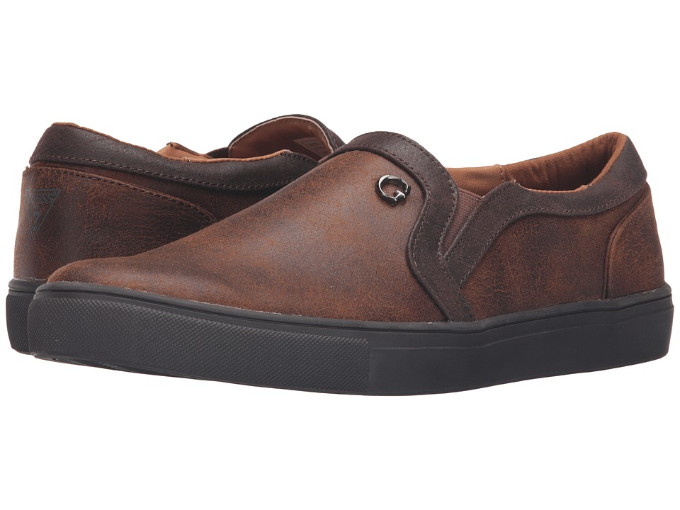 GUESS - Thompson (Cognac) Men's Shoes