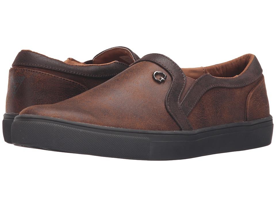 GUESS - Thompson (Cognac) Men's Shoes