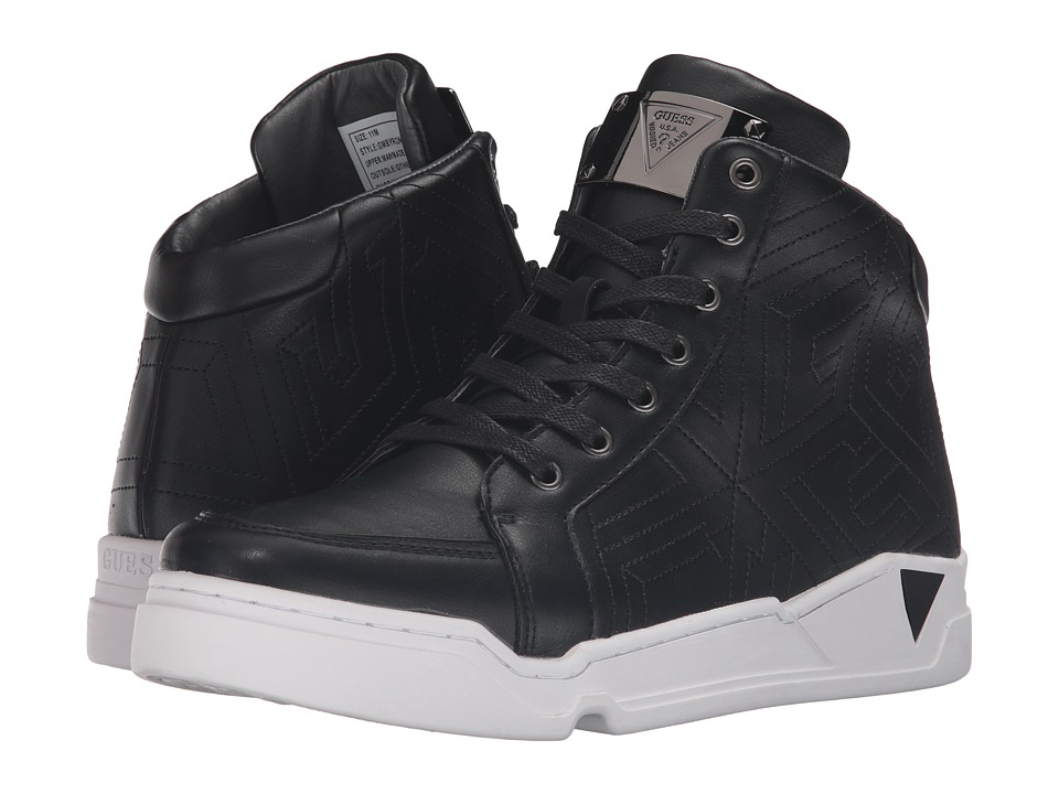 GUESS - Byron (Black) Men's Shoes