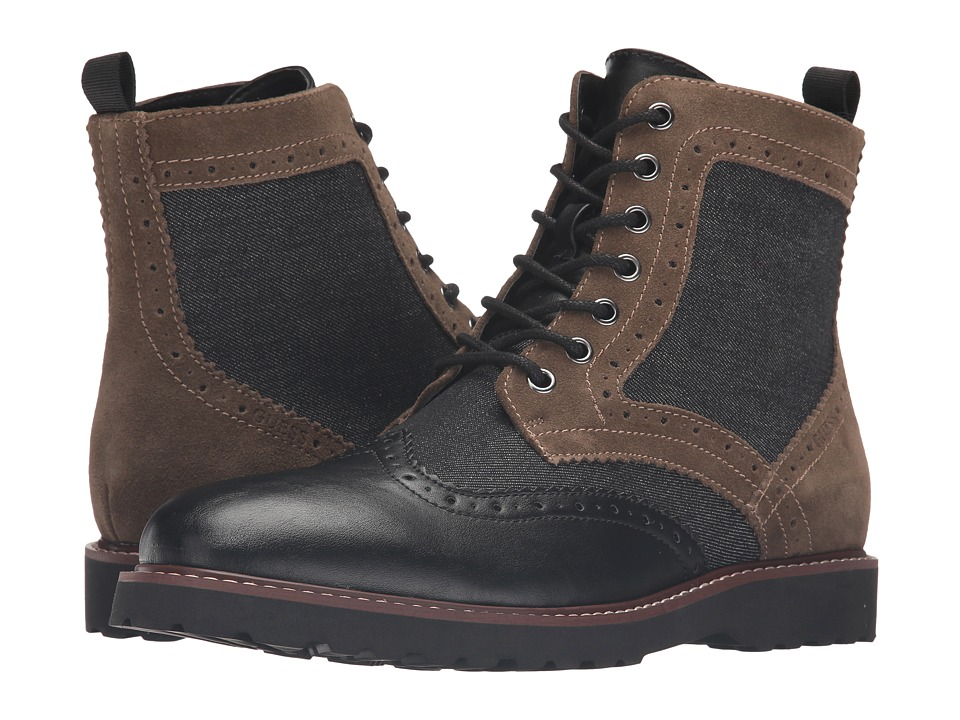 GUESS - Frederick (Black) Men's Shoes