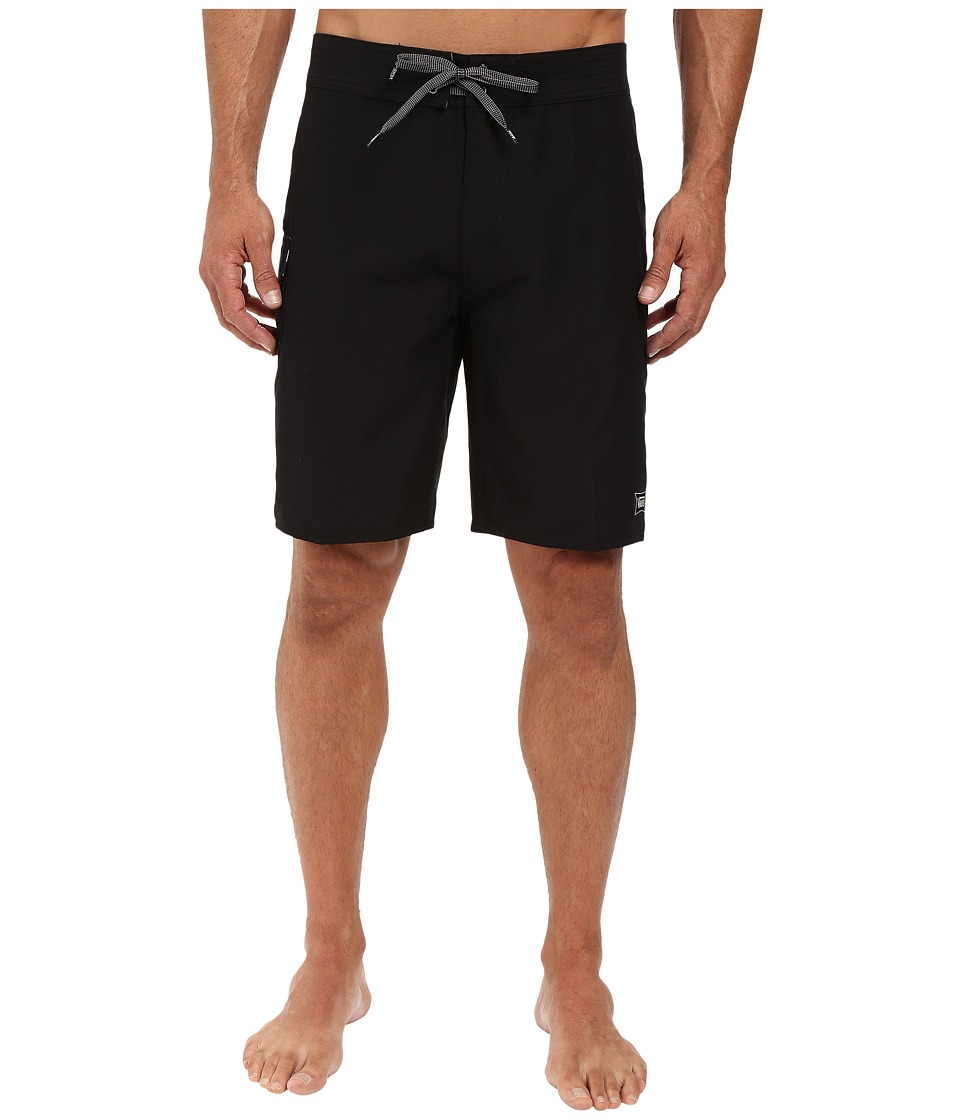 Vans - Classic Solid Boardshort (Black) Men's Swimwear