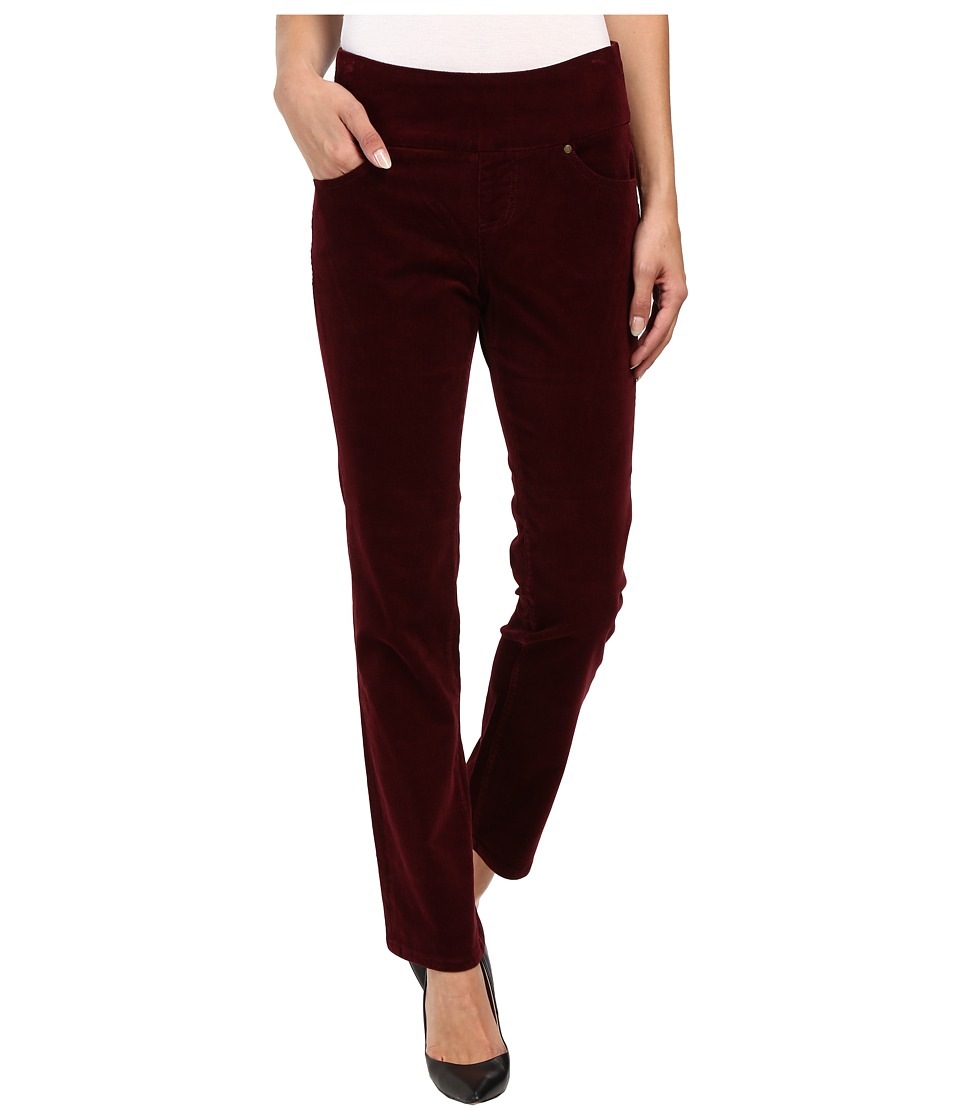 Jag Jeans Petite - Petite Peri Pull On Straight Wale Corduroy (Elderberry) Women's Casual Pants
