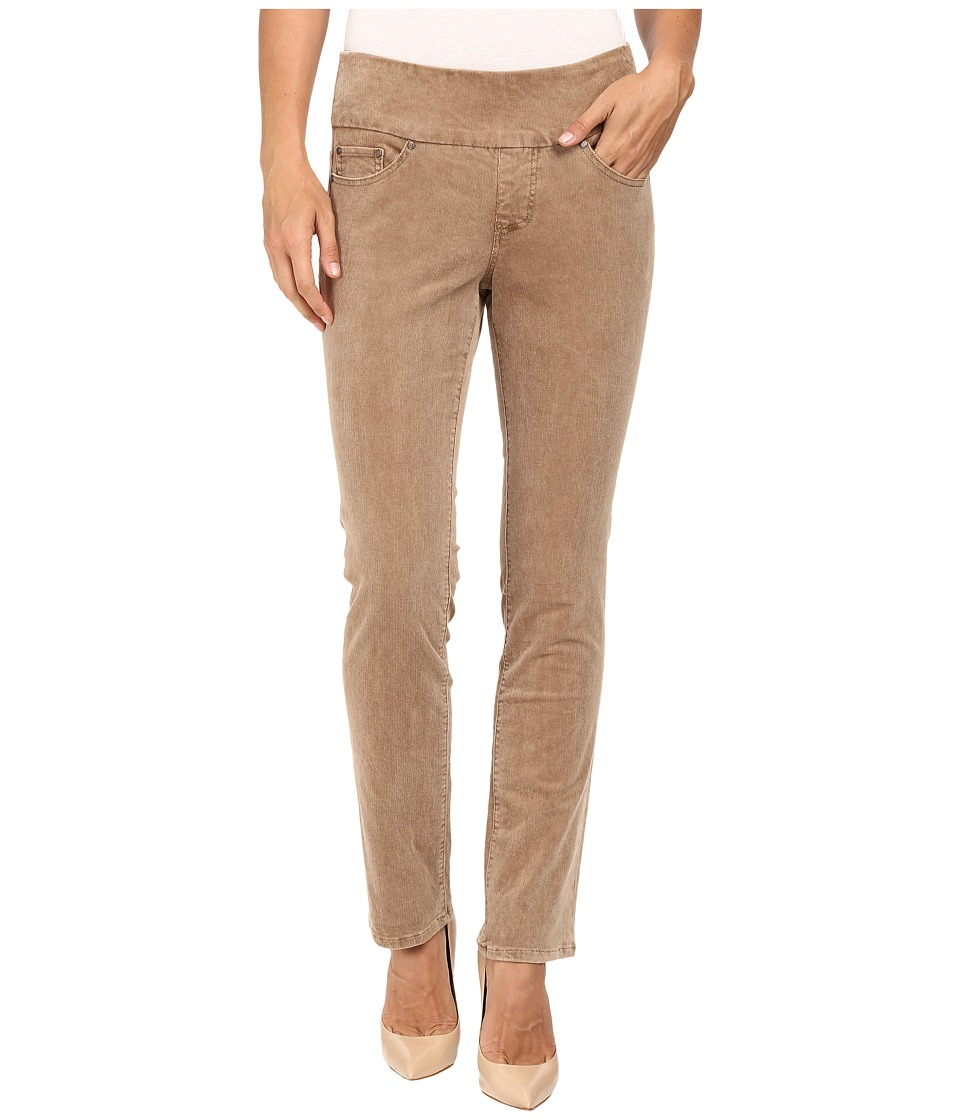 Jag Jeans Petite - Petite Peri Pull On Straight Wale Corduroy (Toffee) Women's Casual Pants