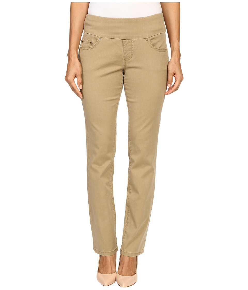 Jag Jeans Petite - Petite Peri Pull On Straight Twill Pants (Toffee) Women's Casual Pants