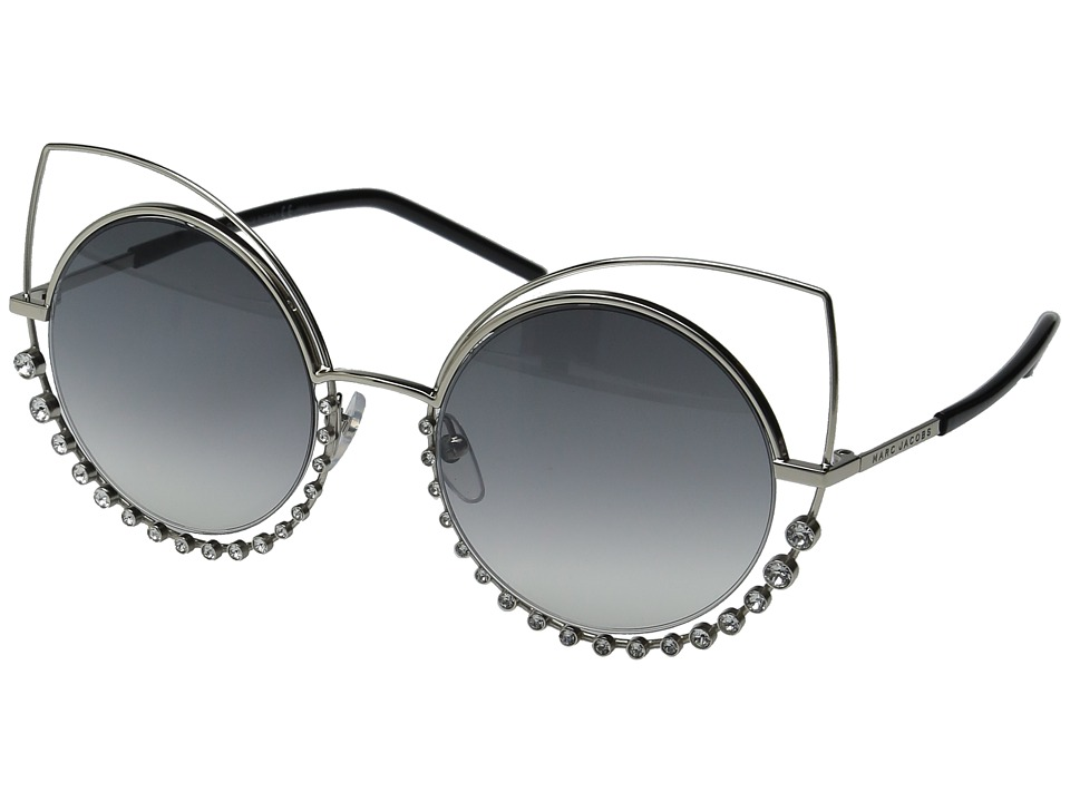 Marc Jacobs - Marc 16/S (Light Gold/Grey Mirror Silver) Fashion Sunglasses