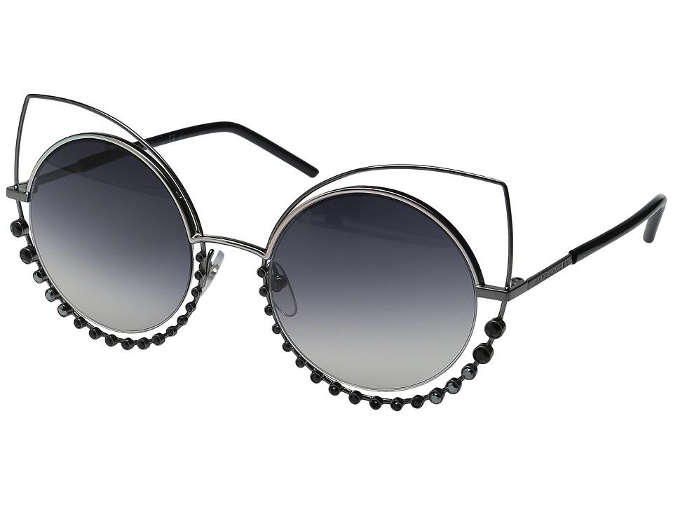 Marc Jacobs - Marc 16/S (Dark Ruthenium/Dark Grey Gradient) Fashion Sunglasses