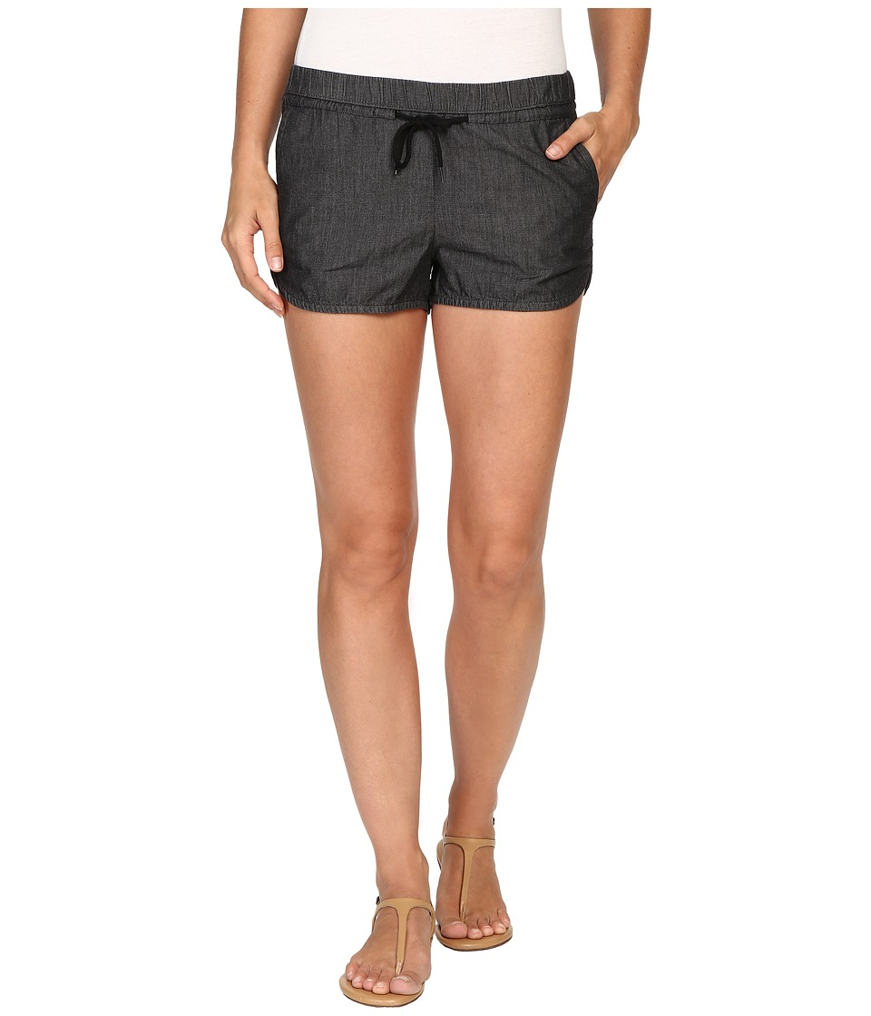 Vans - Subtle Chaos Shorts (Light Black) Women's Shorts