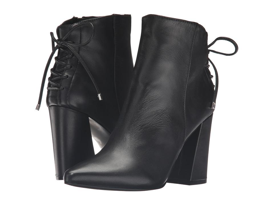 Kristin Cavallari Siren Bootie (Black Leather) Women