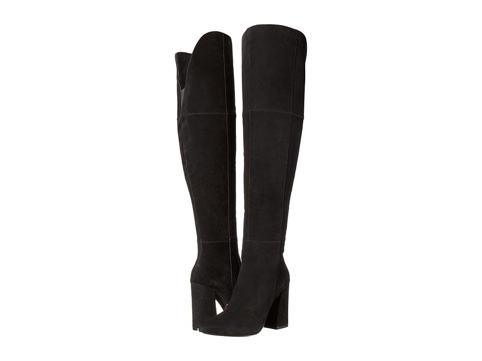 Kristin Cavallari Saffron Over the Knee Boot (Black) Women