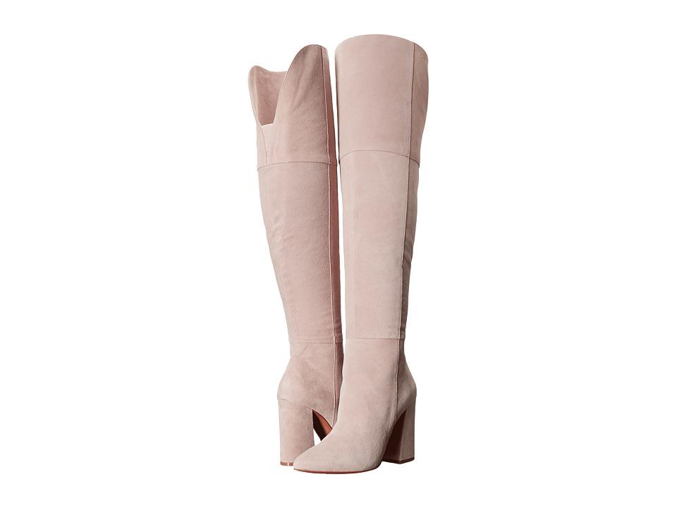 Kristin Cavallari Saffron Over the Knee Boot (Grey) Women