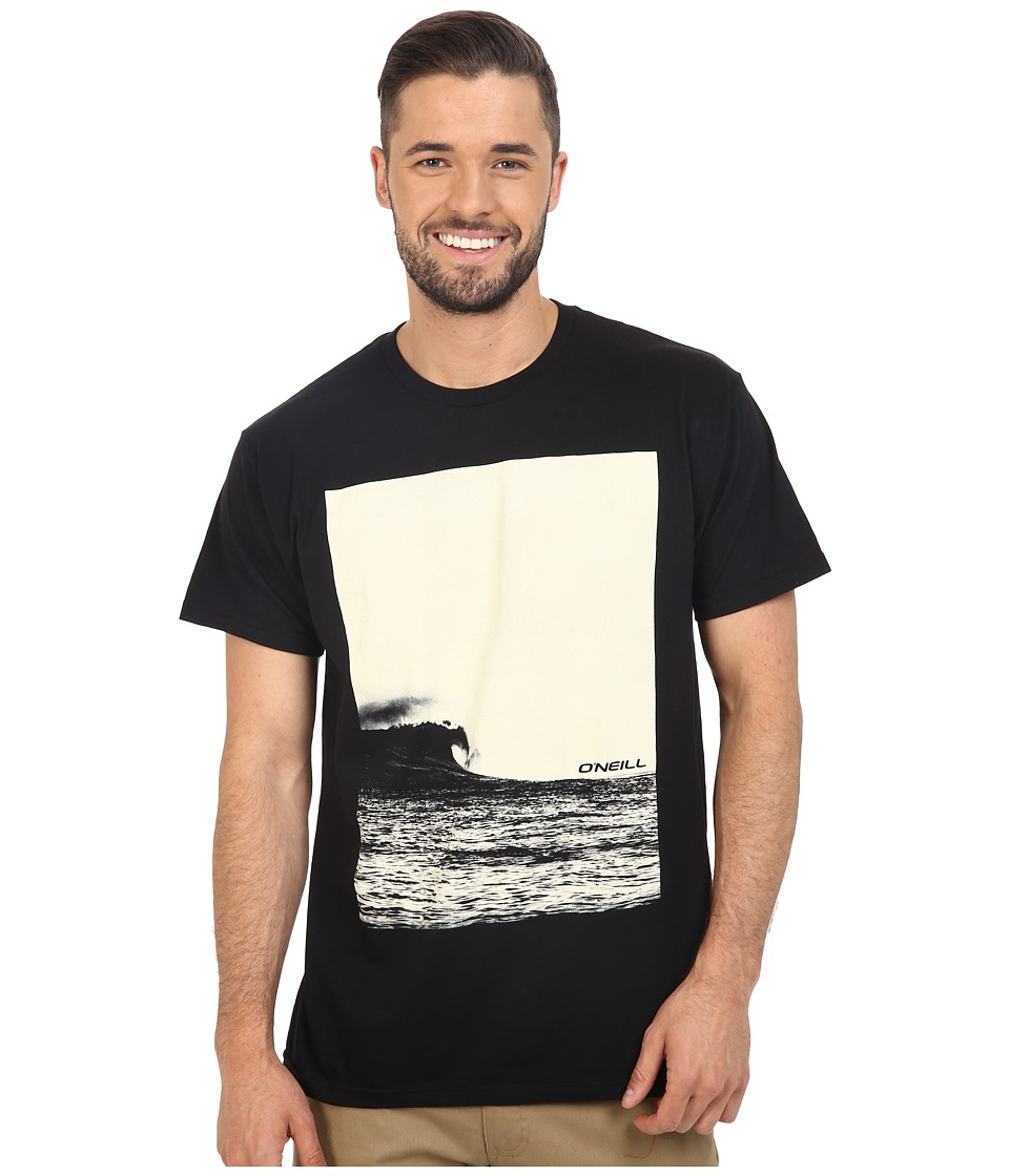 O'Neill - Contrast Tee (Black) Men's T Shirt