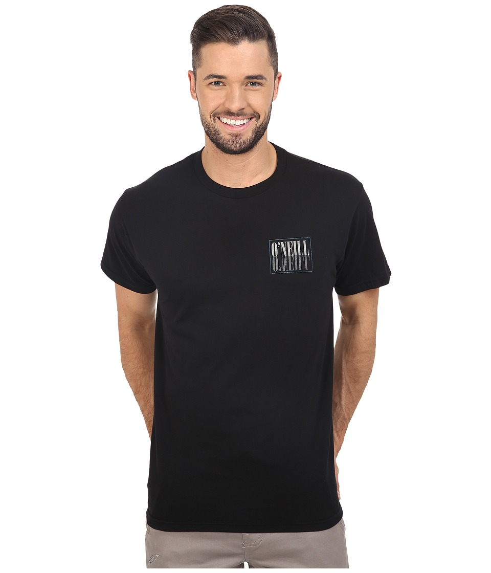 O'Neill - Mary Chain Tee (Black) Men's Clothing