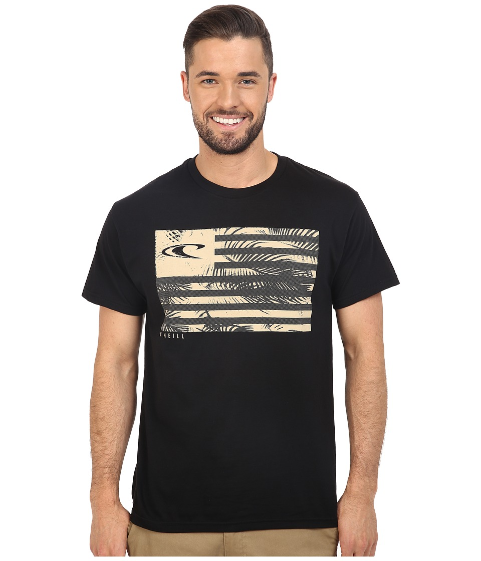 O'Neill - Tropix Tee (Black) Men's T Shirt