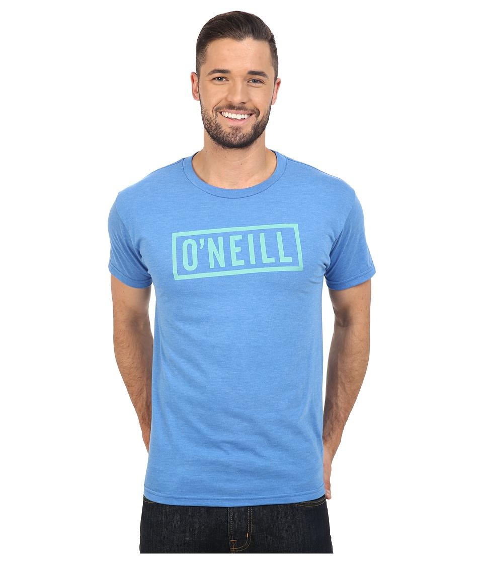 O'Neill - Block Short Sleeve Tee (Heather Royal) Men's T Shirt