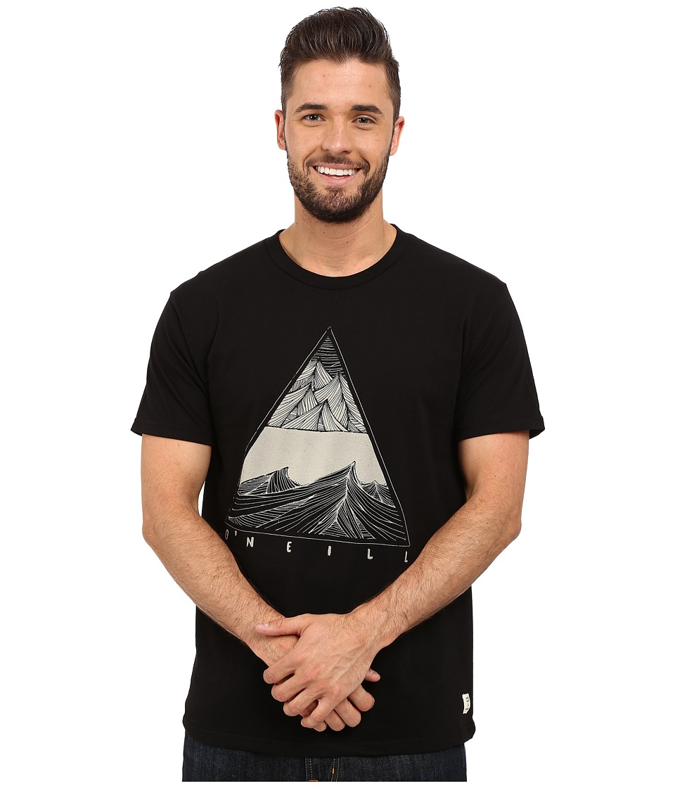 O'Neill - Revelator Tee (Black) Men's T Shirt