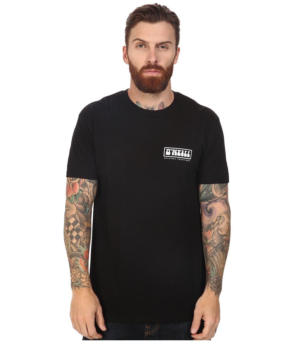 O'Neill - Mash Tee (Black) Men's T Shirt