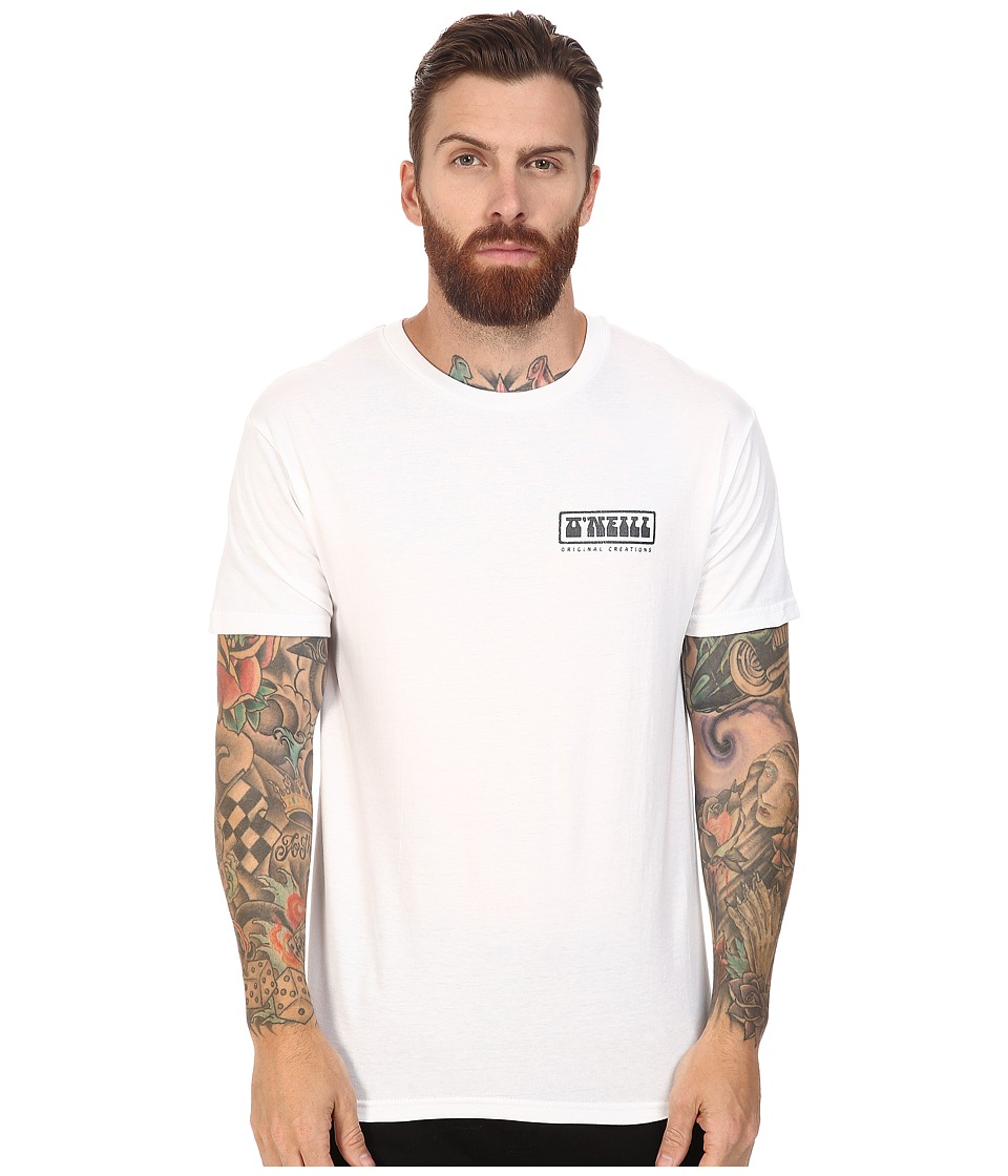 O'Neill - Mash Tee (White) Men's T Shirt
