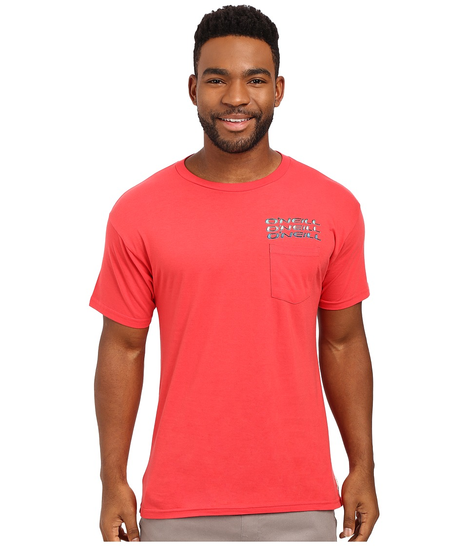 O'Neill - Leonard Tee (Bright Red) Men's T Shirt