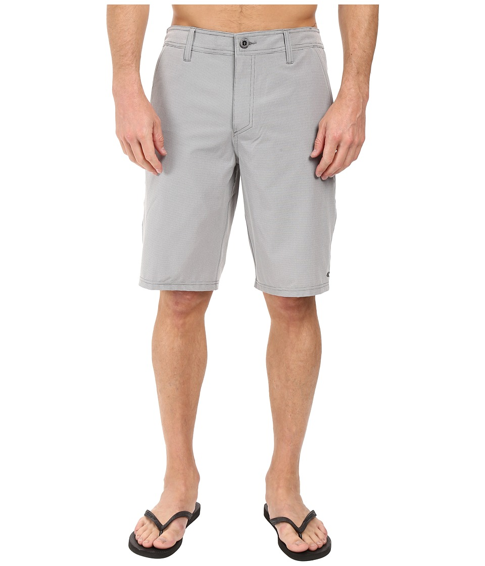 O'Neill - Loaded Check Hybrid Boardshorts (Grey) Men's Swimwear