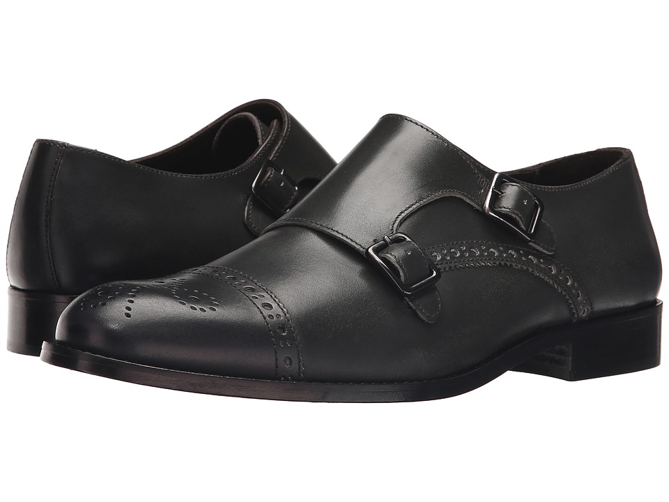 Bruno Magli - Alfanzo (Dark Grey) Men's Shoes