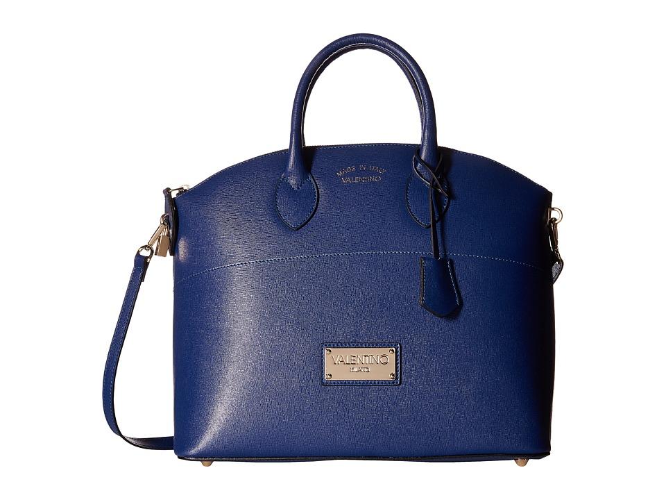 Valentino Bags by Mario Valentino - Bravia (Blue) Satchel Handbags