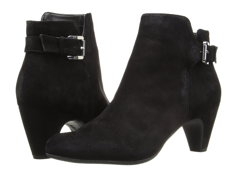 Sam Edelman - Mona (Black Kid Suede Leather) Women's Shoes