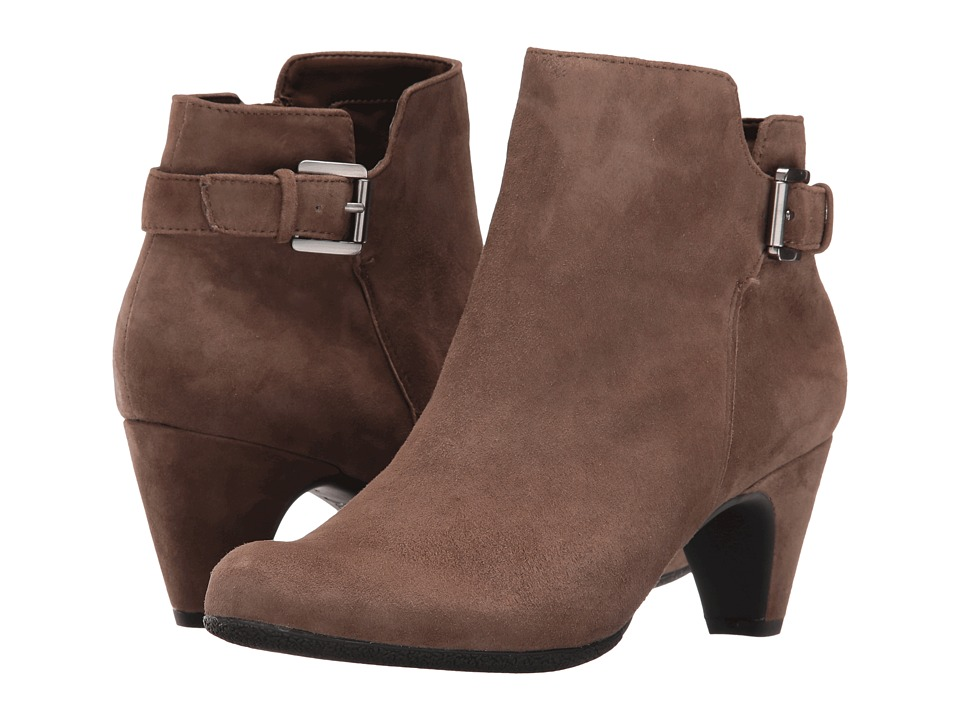 Sam Edelman - Mona (New Taupe Kid Suede Leather) Women's Shoes