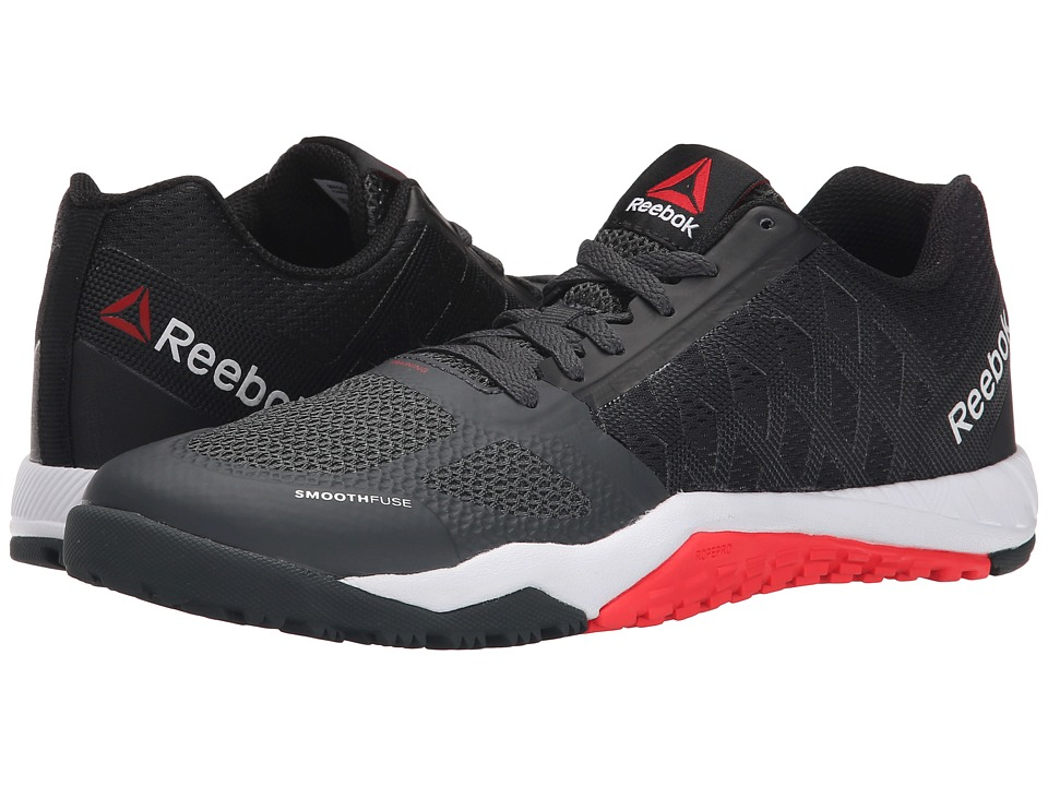 Reebok - Ros Workout TR (Black/Gravel/Neon Cherry) Women's Shoes