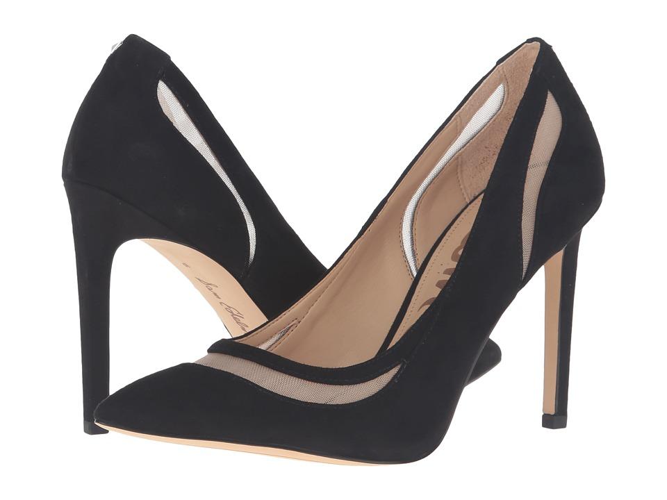 Sam Edelman - Nixon (Black Kid Suede Leather) Women's Shoes