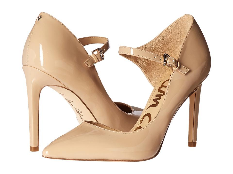 Sam Edelman - Nora (Nude Linen Patent) Women's Shoes