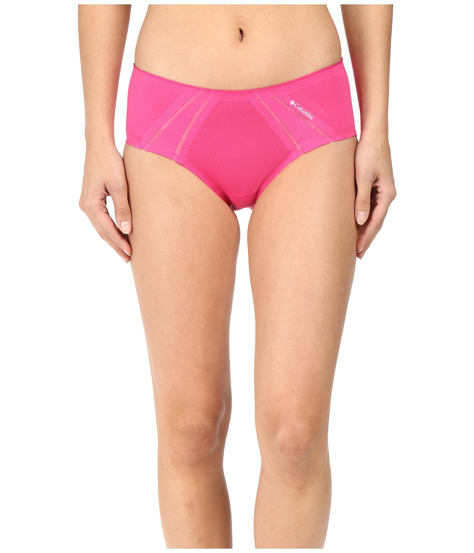 Columbia - Athletic Cheeky Hipster (Fuchsia) Women's Underwear