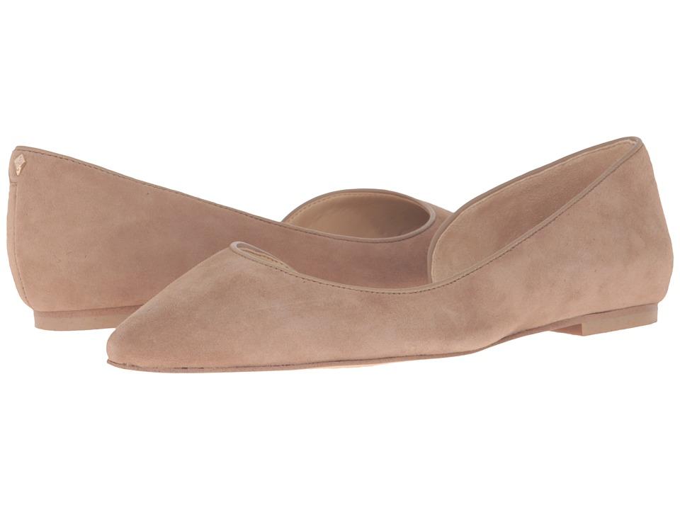 Sam Edelman Reema Oatmeal Kid Suede Leather Shoes