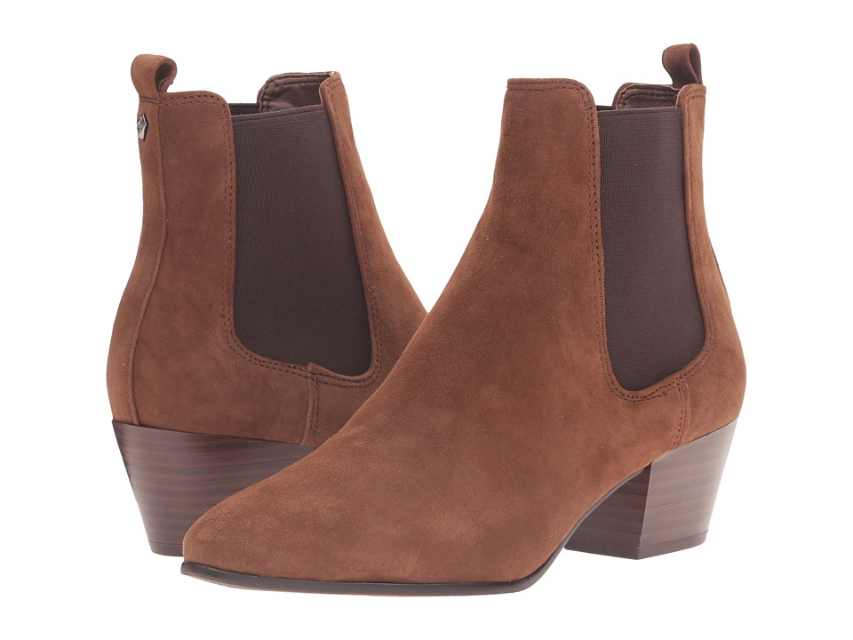 Sam Edelman - Reesa (Woodland Brown Kid Suede Leather) Women's Shoes