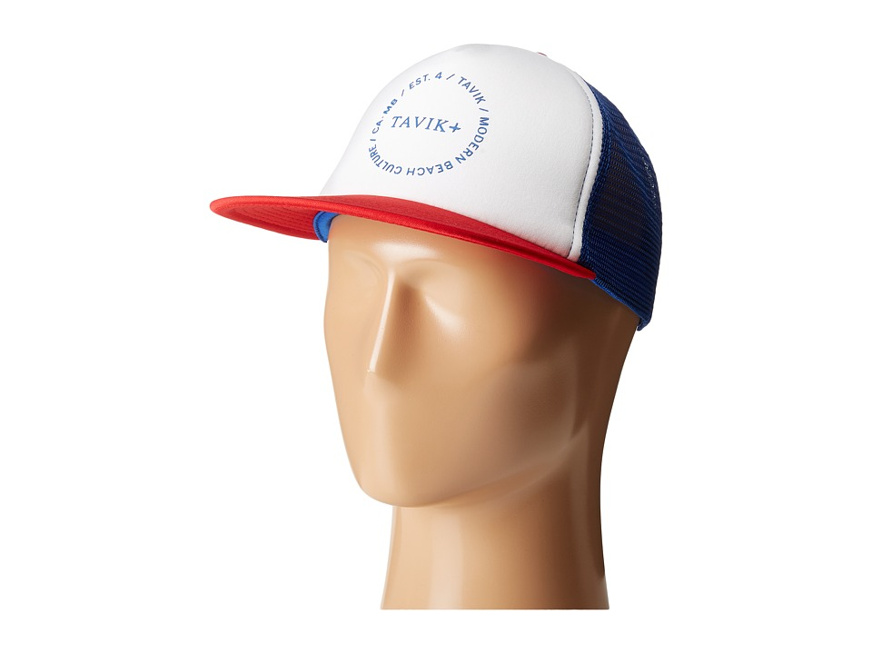 Tavik - Stock Hat (Indigo/White) Caps