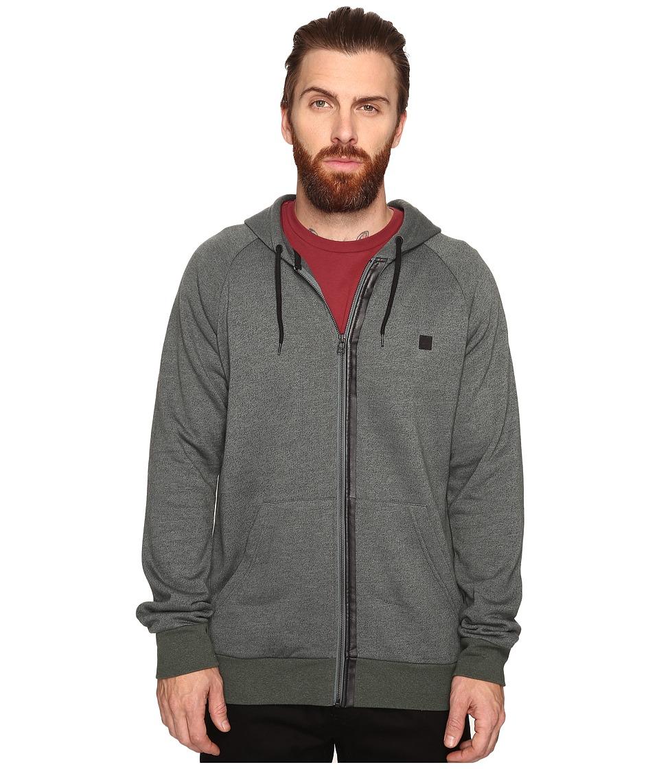 Tavik - Recruit Fleece (Heather Evergreen) Men's Sweatshirt
