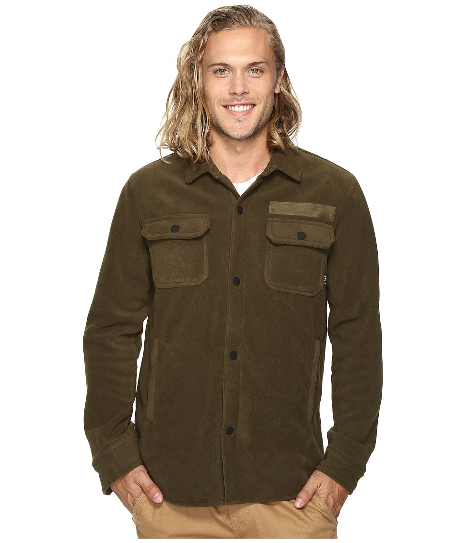 Tavik - Labor Fleece (Heather Olive) Men's Coat