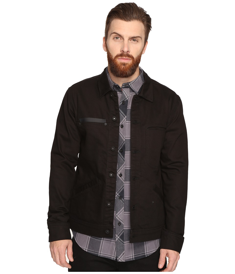 Tavik - Sutter Denim Jacket (Black) Men's Coat