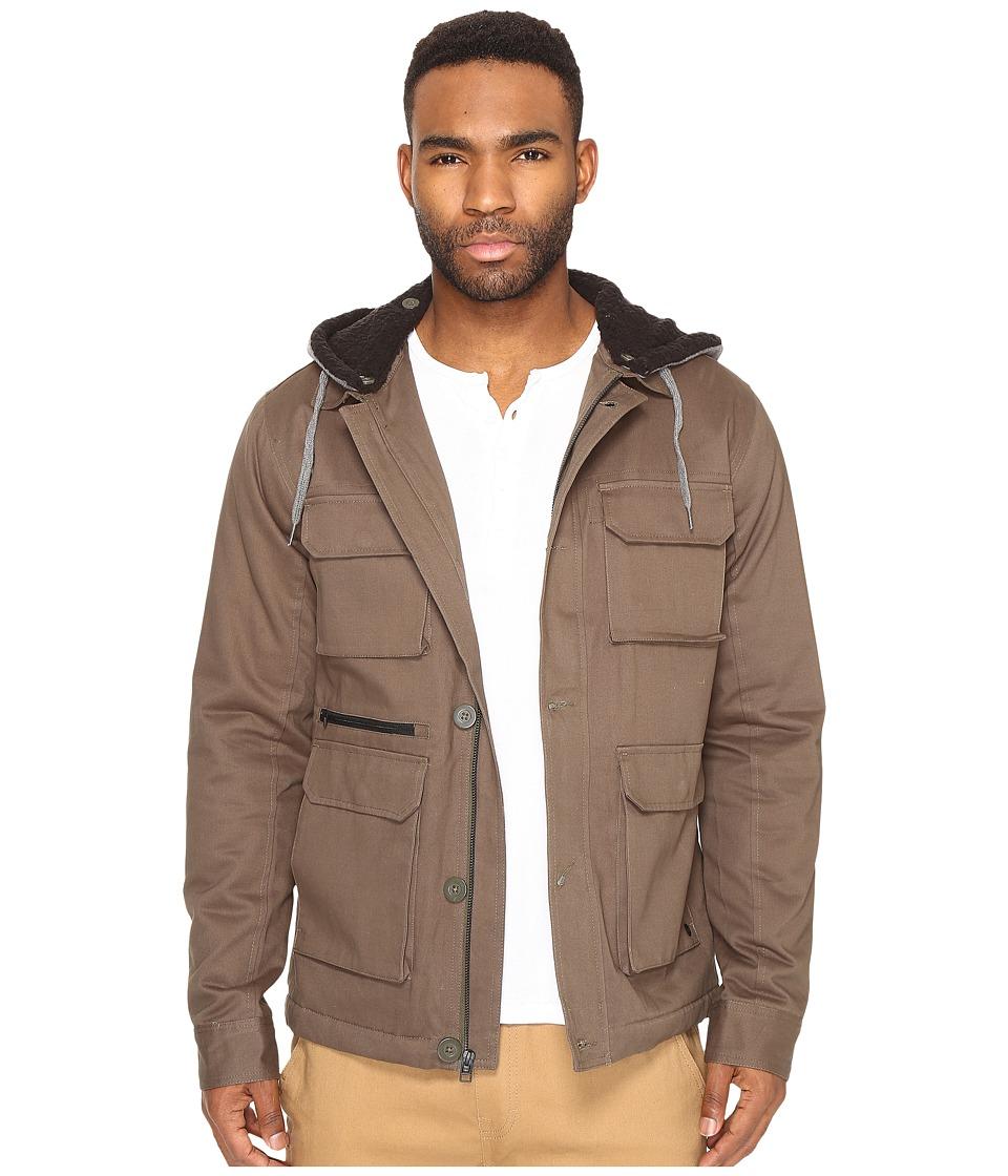 Tavik - Droogs II Plus Jacket (Olive/Heather Grey) Men's Coat