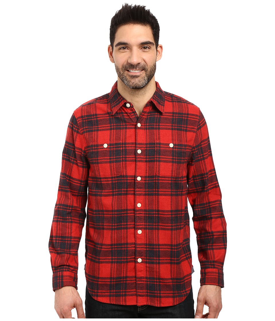 True Grit - Highway 1 Road Trip Plaids (Vintage Red/Vintage Black) Men's Clothing