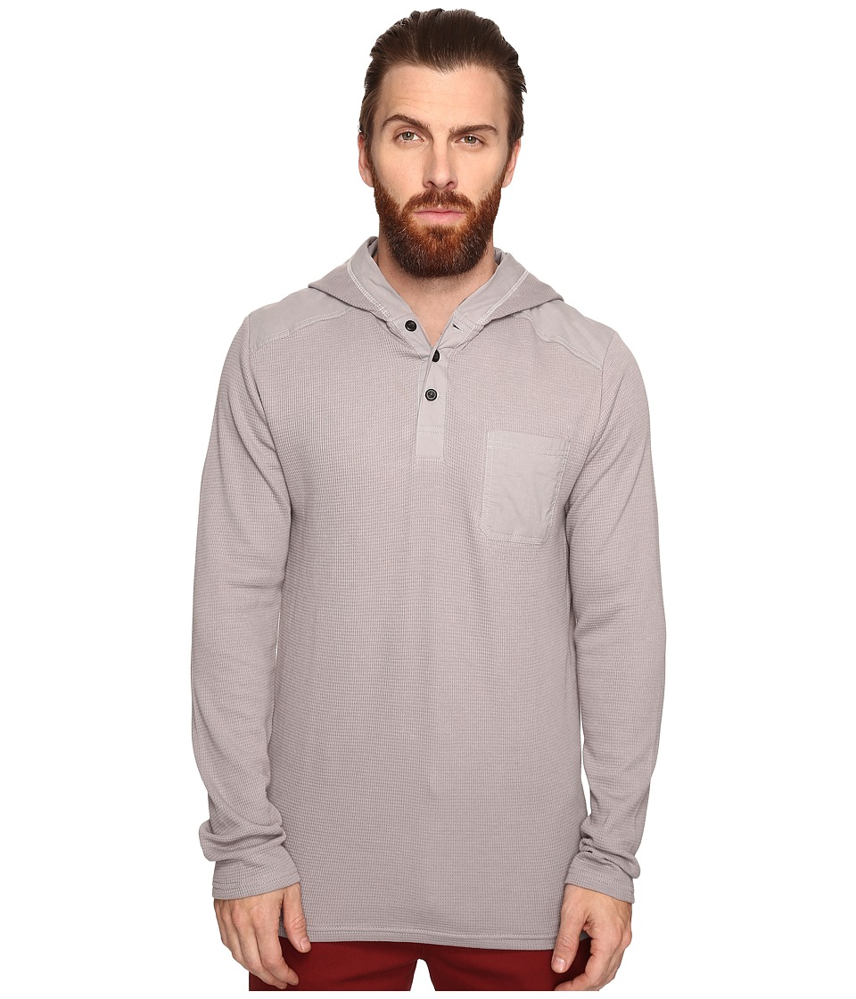 Tavik - Rival Long Sleeve Knit (Light Grey) Men's Long Sleeve Pullover