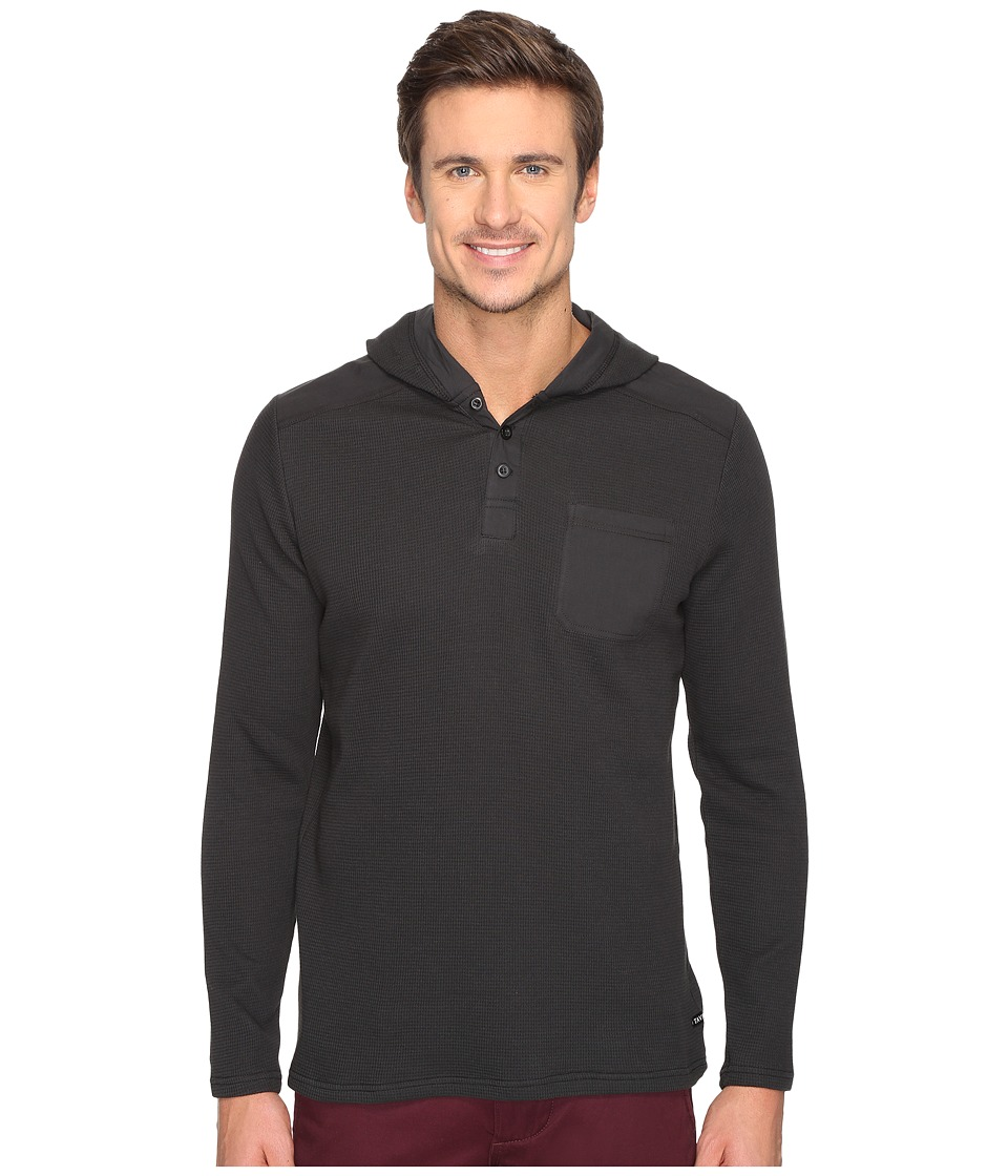 Tavik - Rival Long Sleeve Knit (Black) Men's Long Sleeve Pullover