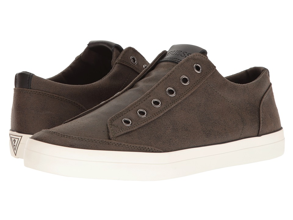 GUESS - Mitt (Olive) Men's Shoes