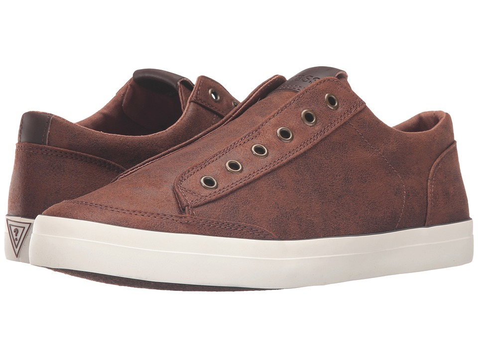 GUESS - Mitt (Cognac) Men's Shoes