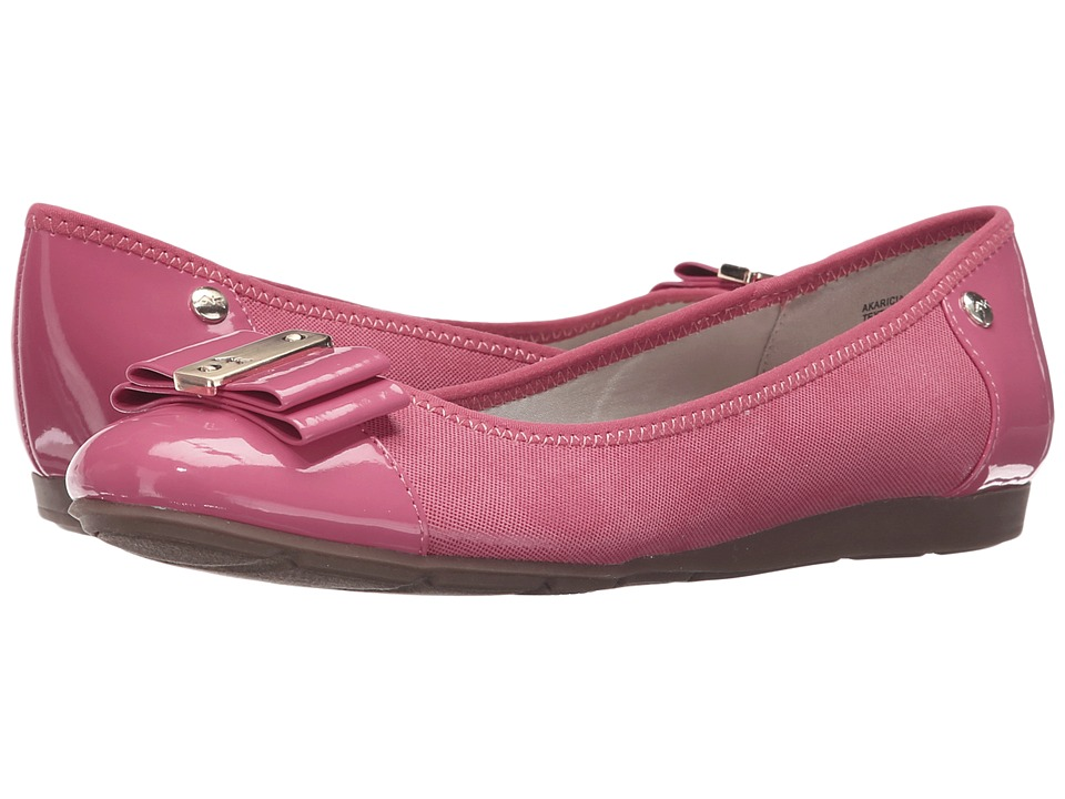 Anne Klein - Aricia (Medium Pink Multi Fabric) Women's Shoes